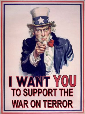 Support the war on terror !