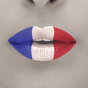 bisou français