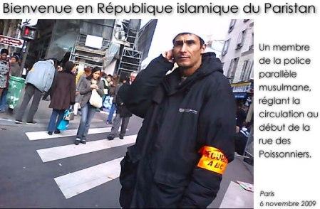 police muzz paris