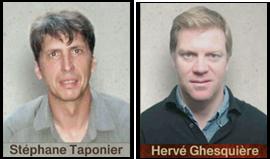 """Hervé Ghesqière et Stéphane Taponier: Les 2 """"touristes"""" farf Att4"""