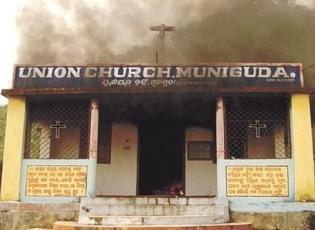 Massacres d'Orissa, Aout 2008.