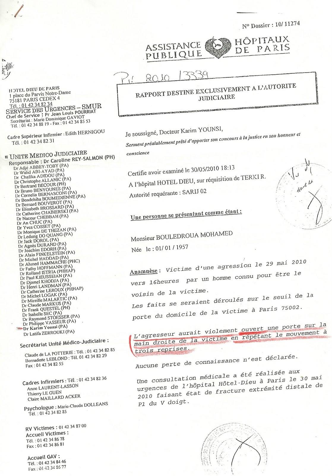 Certificats m dicaux de complaisance francaisdefrance 39 s blog for Certificat de precompte