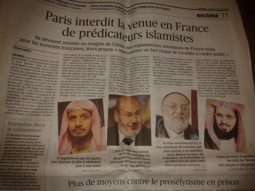 islamistes non grata