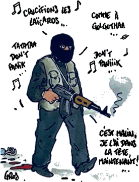 terroriste islamiste, jihadiste, bataclan, médine